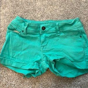 Delia's Taylor denim shorts